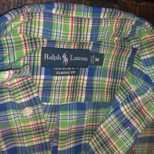 Polo by Ralph Lauren Shirts - Men's Polo Short Sleeve Button Down